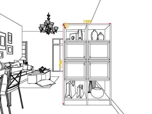 25-30平方欧式田园风格客餐厅家具装修效果图套餐g