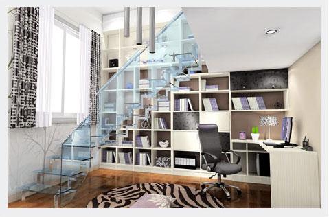 家装楼梯设计_楼梯装修效果图_室内楼梯设计_尚品宅配