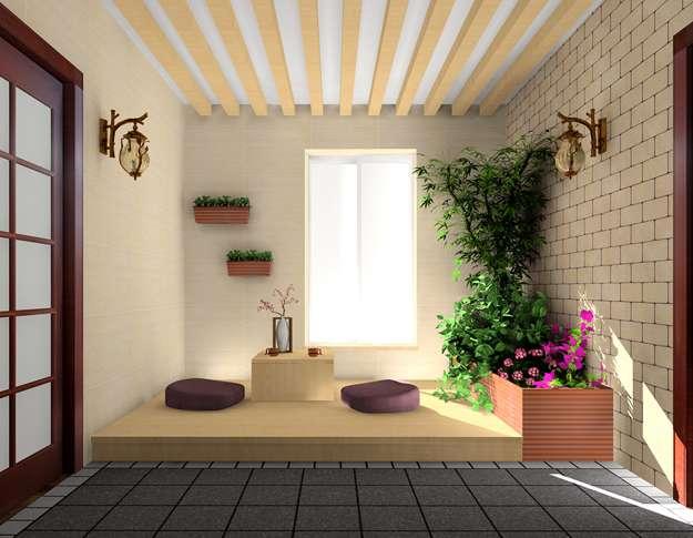 阳台装修效果图2013_入室花园设计_新居网